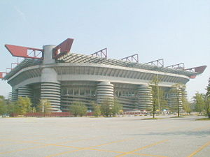 San Siro, the home stadium of AC Milan and Inter