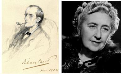 Sherlock Holmes and Agatha Christie