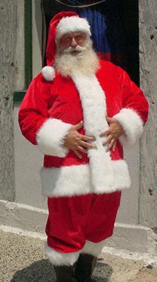 Santa Claus, a legend originating in Bari, Italy